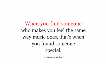 When You Find Someone Who Makes You