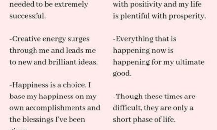Life Changing Affirmations to Boost your Confidence