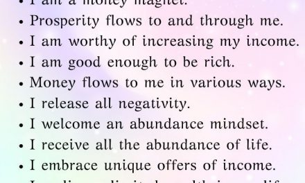 Wow money affirmations to manifest wealth, prosperity and abundance using the se…