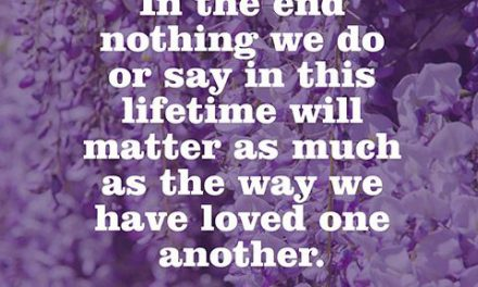 Quote About Loving Others – Daphne Rose Kingma