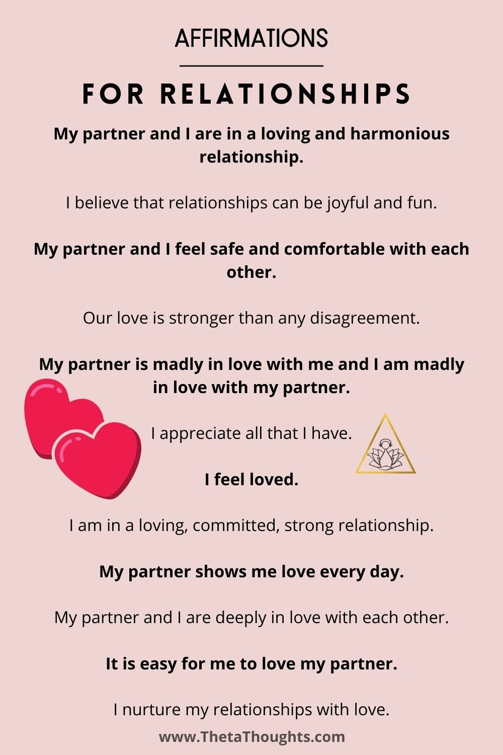 Positive affirmations for couples